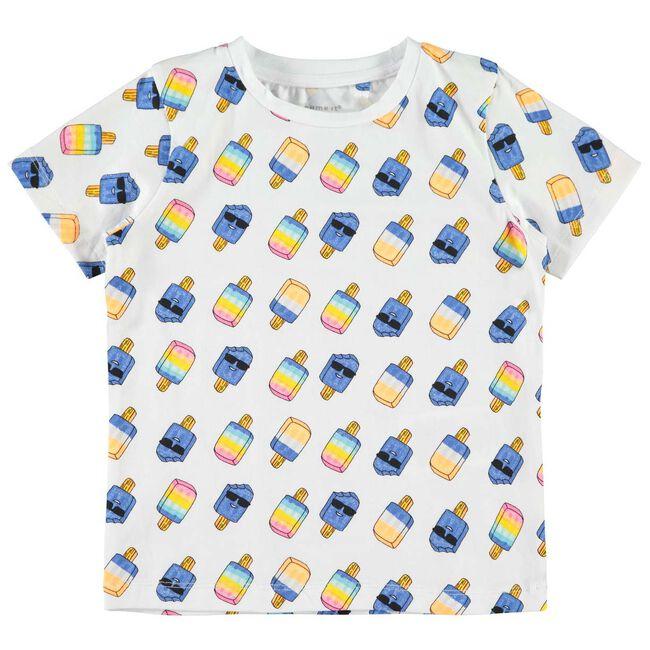 Name it peuter jongens t-shirt - White