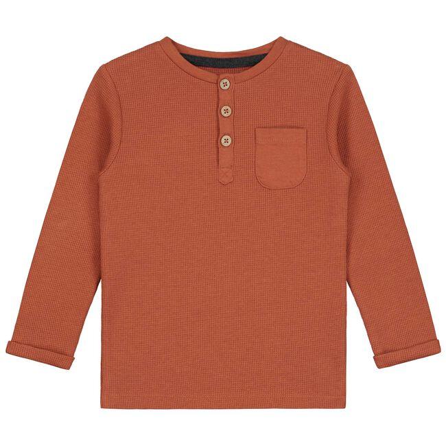 Prénatal baby jongens t-shirt - Deep Orange