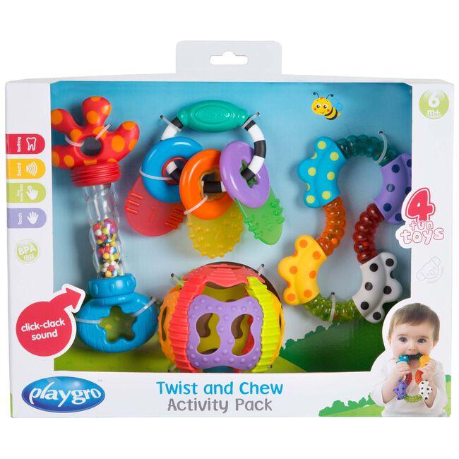 Playgro twist and chew activity pack - Multi
