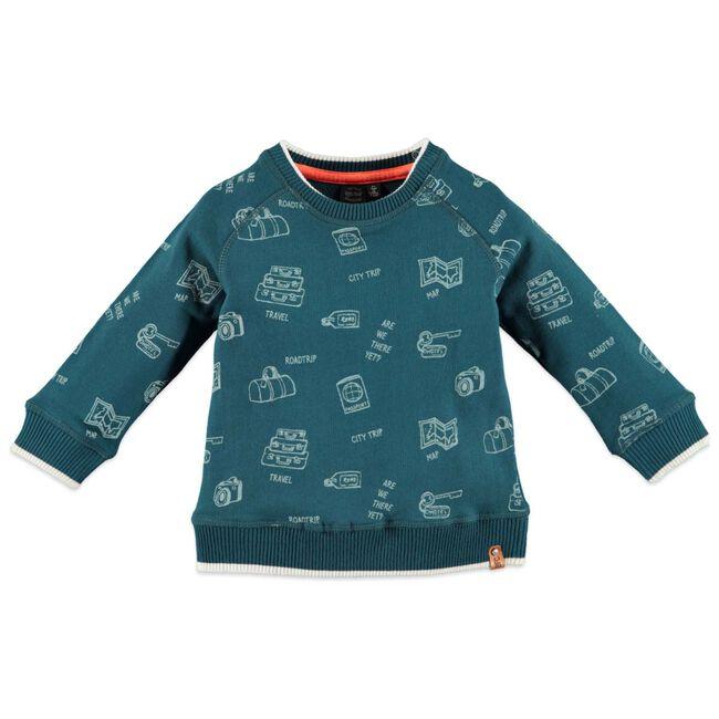 Babyface peuter jongens sweater - Dark Azur Blue