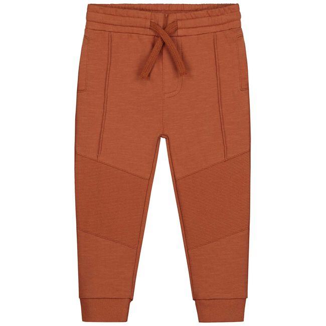 Prénatal peuter jongens broek - Orange Brown