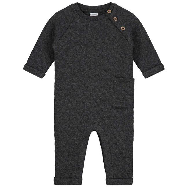 Prénatal baby jongens ééndelig pak - Rock Grey Melange