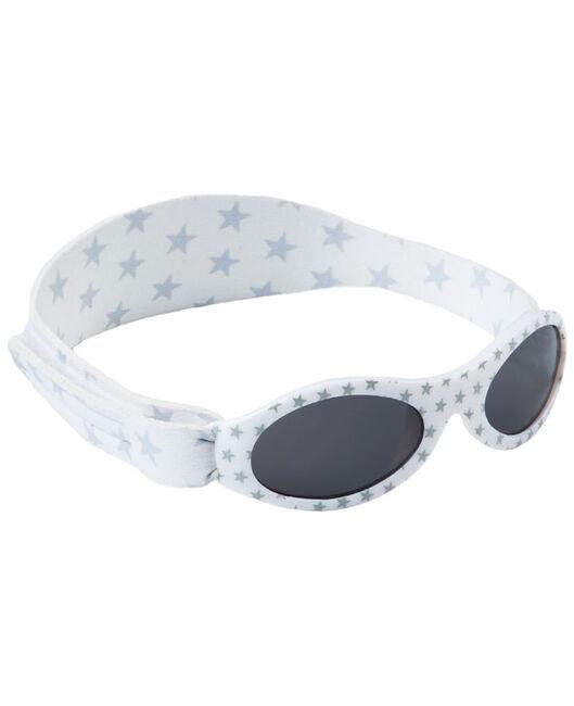 625ea3bdebad7c Dooky BabyBanz zonnebril Silver Star - White