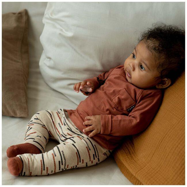Prenatal newborn unisex broek - Sandbrown