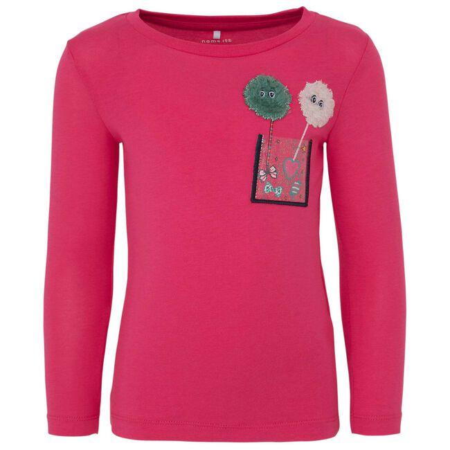 Name it peuter meisjes T-shirt - Hot Pink