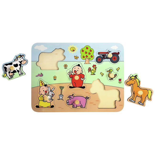 Bumba houten puzzel boerderij -