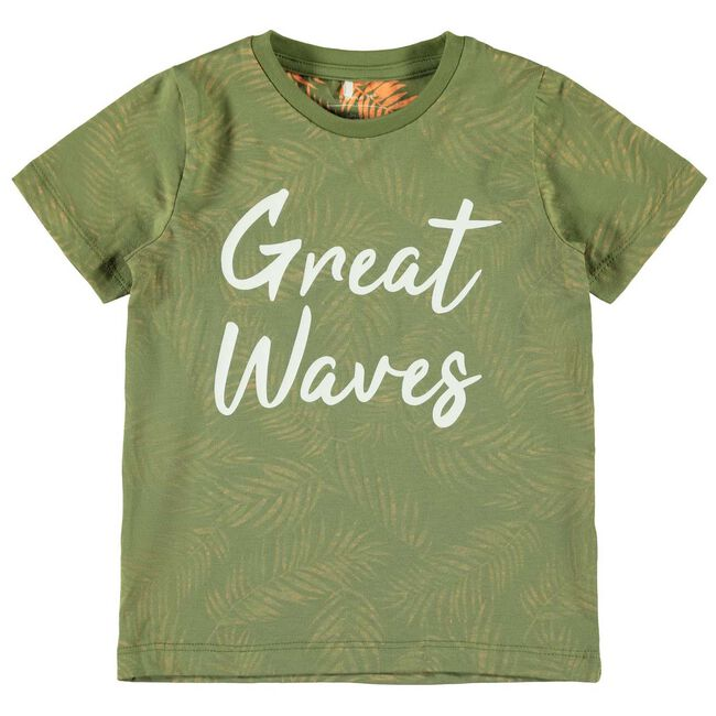 Name it peuter jongens t-shirt - Green