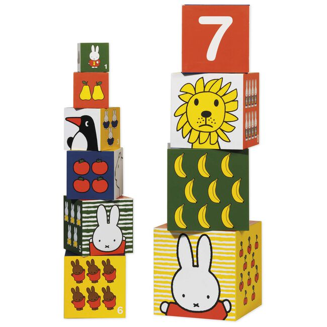Nijntje stapelkubus karton - Multi