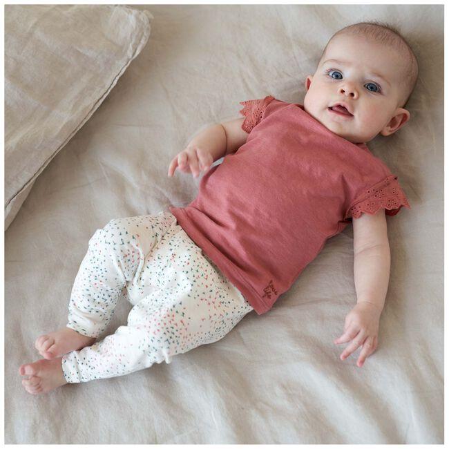 Prénatal baby T-shirt - Light Brown Red