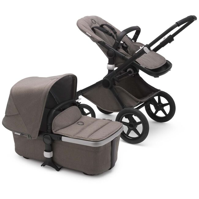 Bugaboo Fox2 Mineral - Black/ Taupe