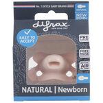Difrax Newborn fopspeen Pure - Pink