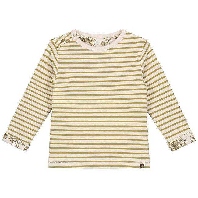 Sweet Petit peuter jongens t-shirt Douwe - Soft Ecru Melange