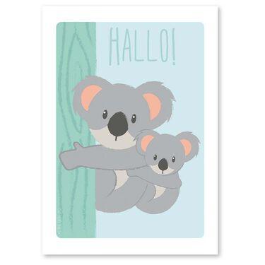 Studio Circus A4 poster koala -