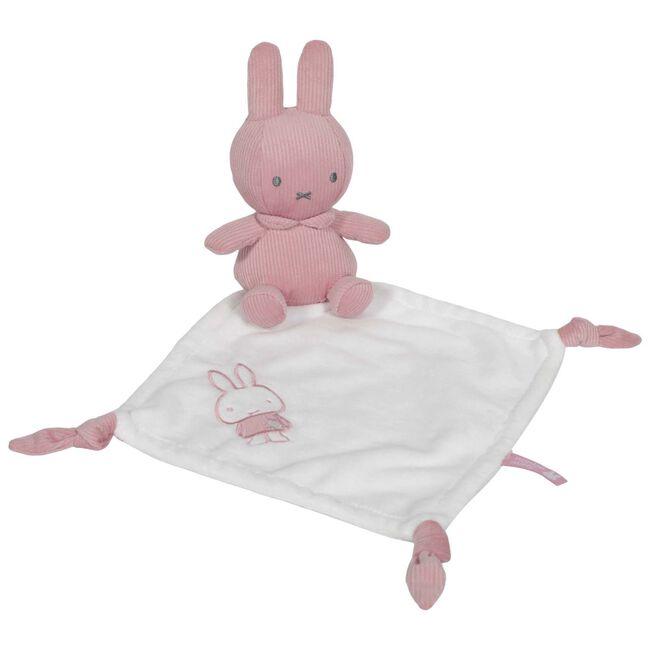 Nijntje knuffeldoekje rib roze - Pink