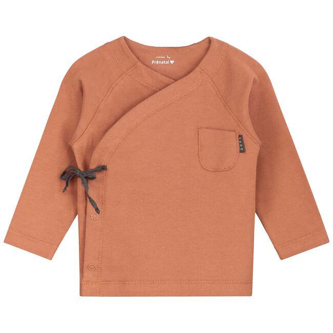 Prenatal newborn unisex overslag shirt -