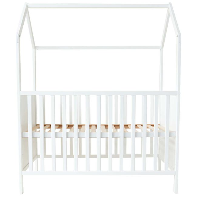 Prenatal ledikant huisje 60x120 - White