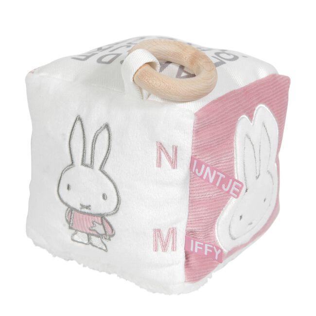 Nijntje kubus rib roze - Pink