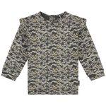 Prénatal baby meisjes sweater - Stonegrey