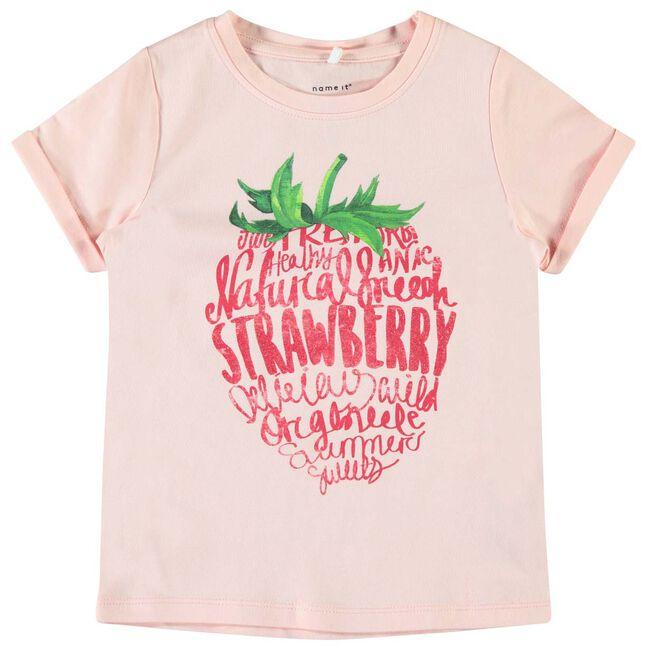 Name it peuter meisjes t-shirt - Soft Pink