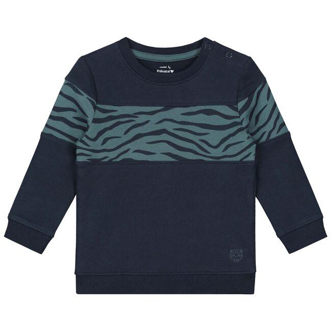 Prenatal baby jongens sweater - Midbrown