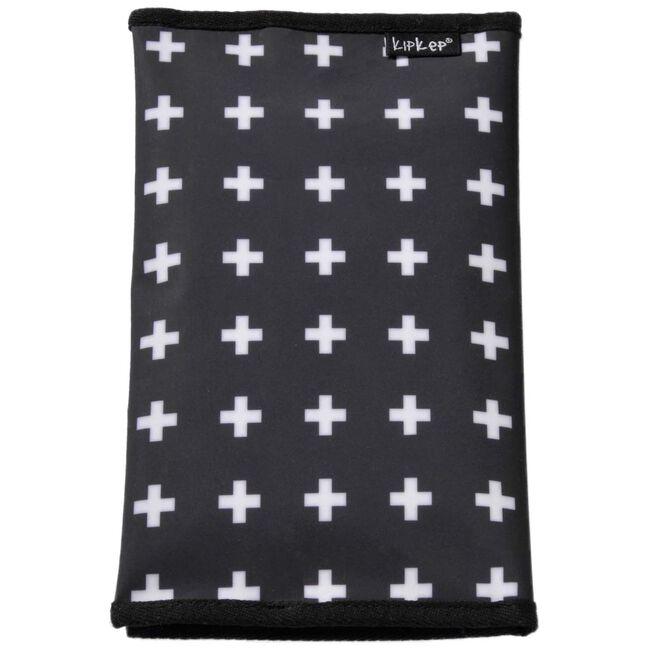 Kipkep luieretui kruisjes - Black