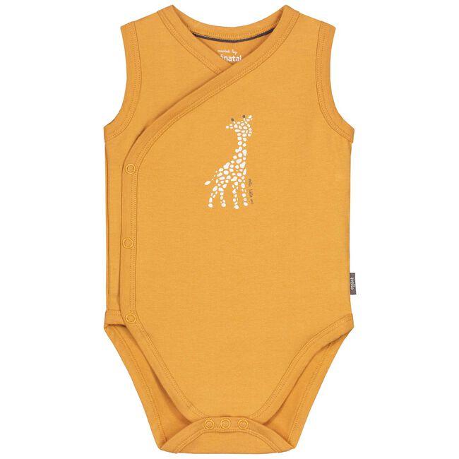 Prenatal newborn unisex romper 2-pack - Darkyellow