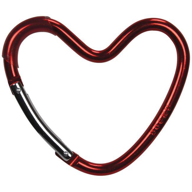 Dooky buggyhaak hart - Red