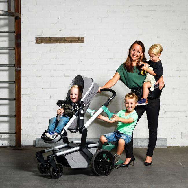 EVE Kids Kid-Sit meerijdstoeltje / meerijdplankje - Forest Green
