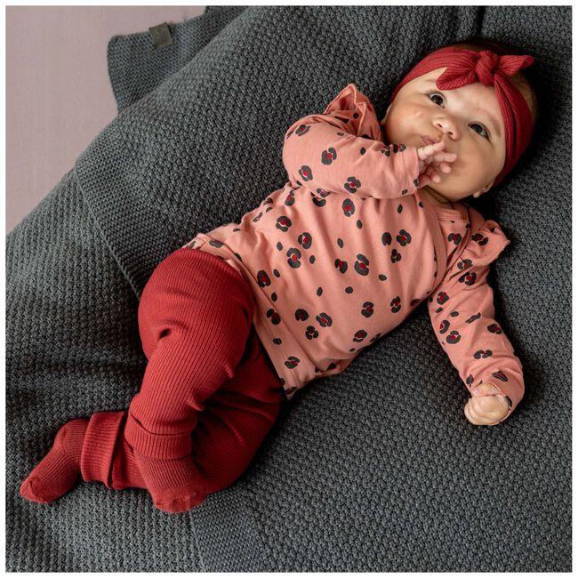 Prenatal newborn unisex broekje rib -