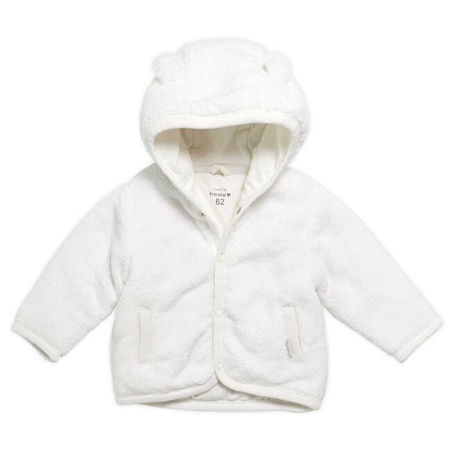 Prénatal newborn unisex jasje Vriendjes - Off-White