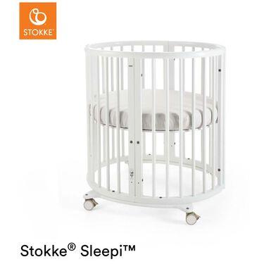 Stokke Sleepi Mini white inclusief matras -