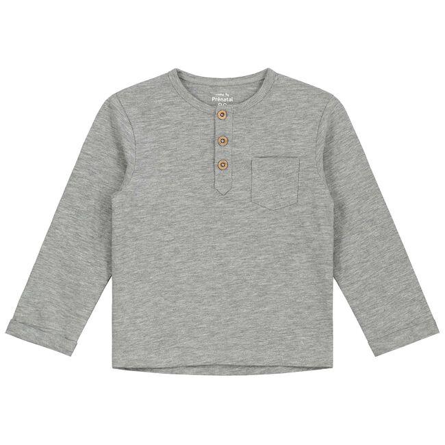 Prenatal peuter jongens T-shirt - Cloud Grey Melange