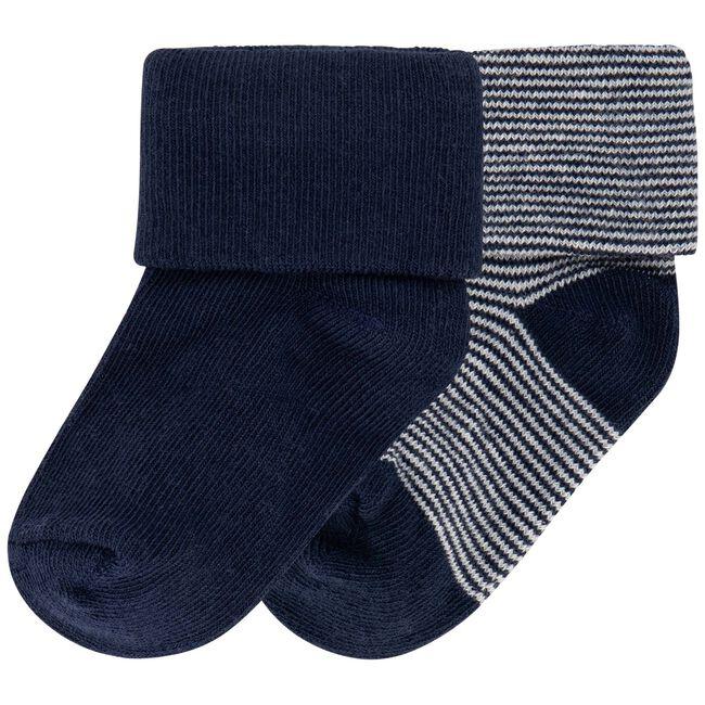 Prénatal newborn jongens sokjes 2-pack - Dark Blue