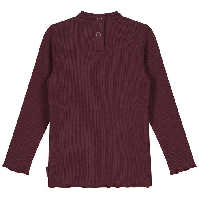 Prénatal peuter meisjes T-shirt - Dark Redshade