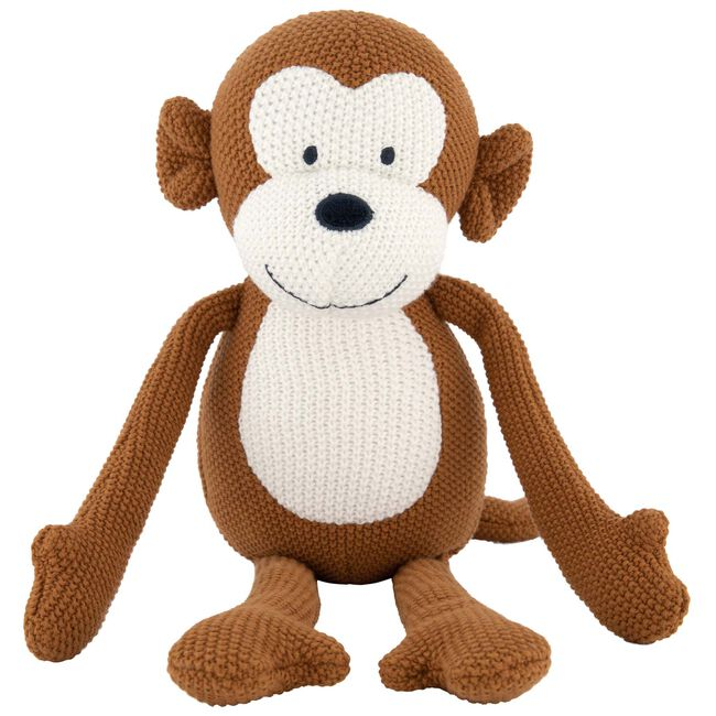 Prénatal knuffel aap little knits - Sienna