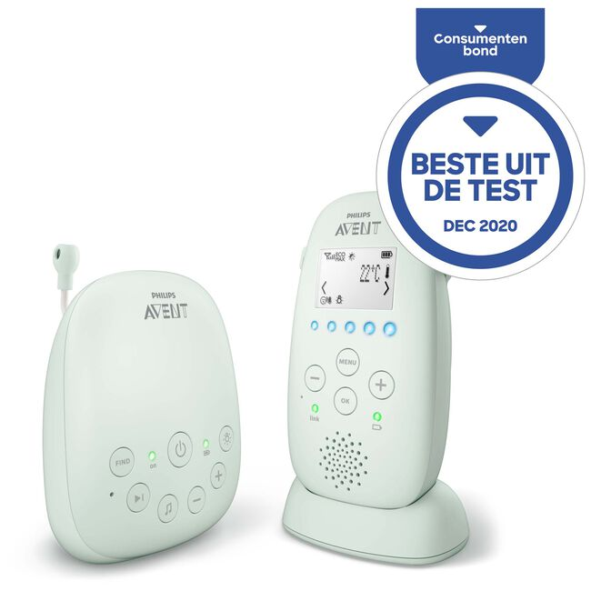 Philips Avent SCD721/26 DECT-babyfoon -