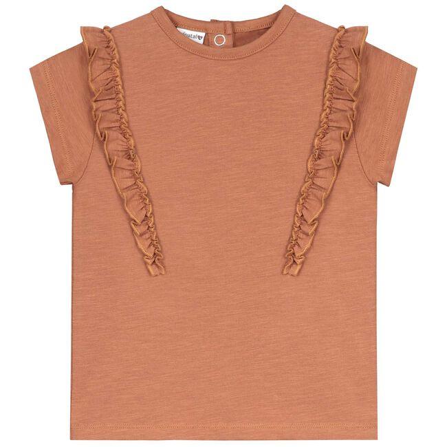 Prénatal peuter meisjes T-shirt - Brown