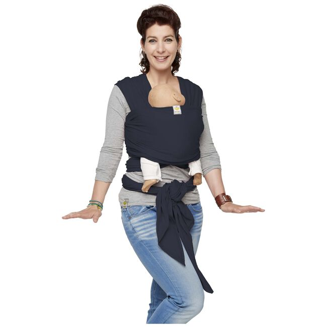 ByKay Stretchy Wrap Deluxe draagdoek - Jeans Blue