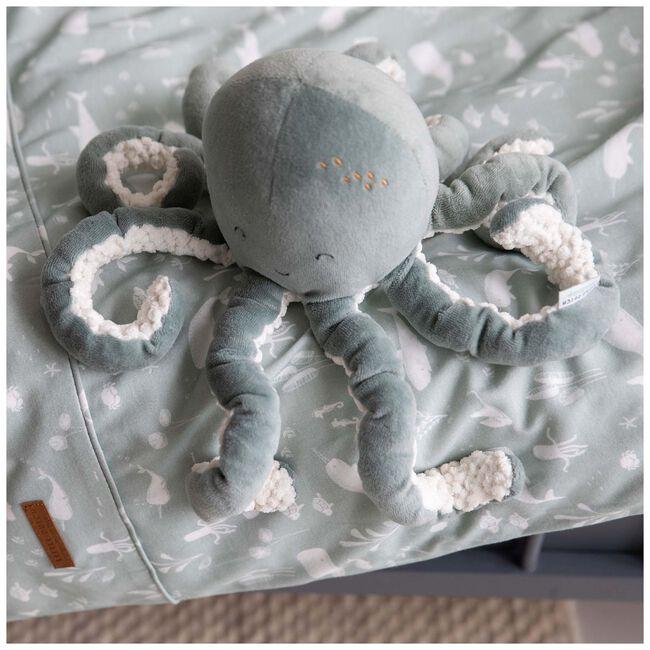 Little Dutch knuffel octopus Ocean 22cm - Mintgreen