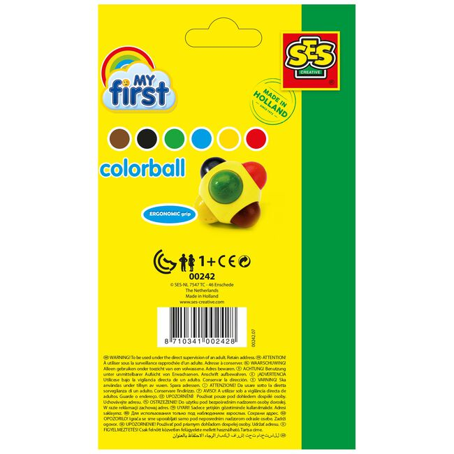 SES My First colorball -