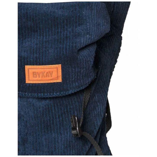 ByKay Click Carrier Classic ribbed velvet - Dark Blue