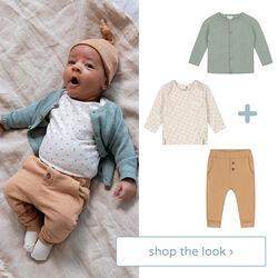 shop the look - vest, shirt en broek