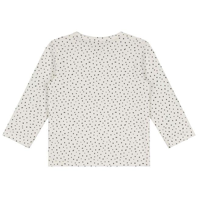 Prenatal baby meisjes T-shirt - Ivoor Wit