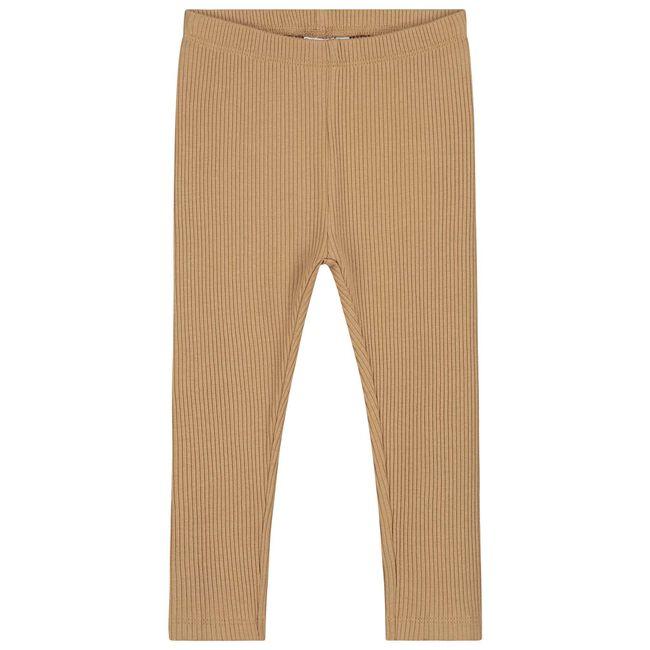 Prénatal peuter meisjes legging - Light Taupe Brown