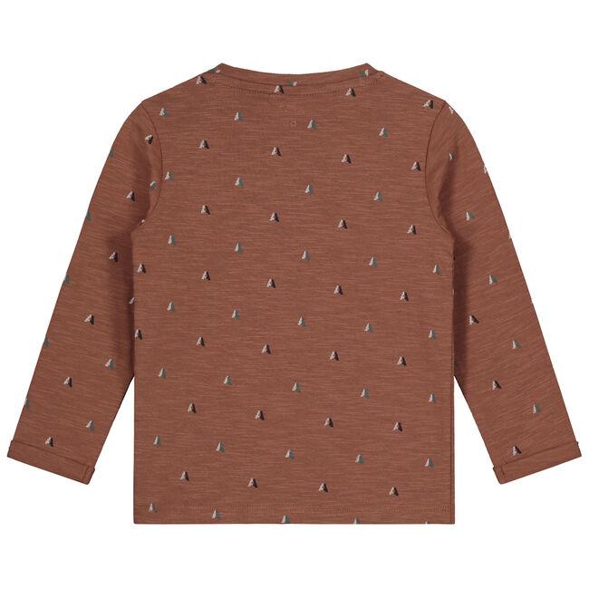 Prénatal peuter jongens t-shirt - Dark Sienna