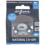 Difrax 0-6mnd fopspeen Pure - Blue