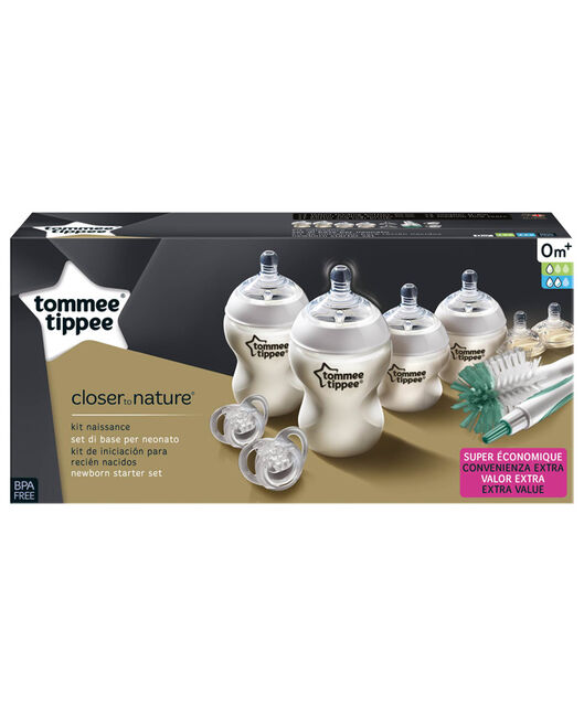 Tommee Tippee startersset zuigflessen - Geen Kleurcode