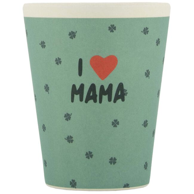 Prenatal bamboe mok I Love Mama - I love mama