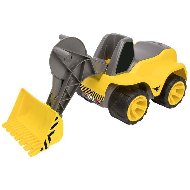 Big power worker maxi loader bulldozer - Yellow