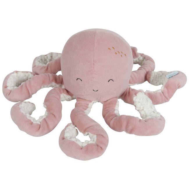 Little Dutch knuffel octopus Ocean 22cm - Pink